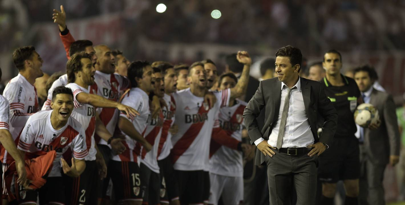 El River de Gallardo sigue haciendo historia