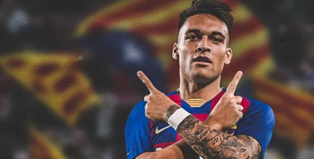 Lautaro Martínez, nuevo jugador del Barcelona con un contrato ...