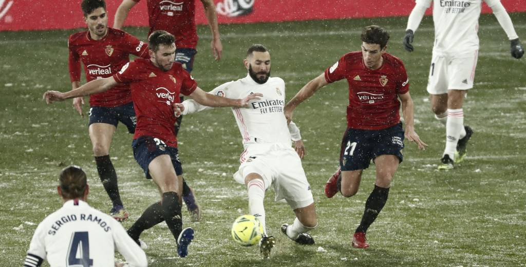 Real Madrid vs Osasuna: horario y dónde ver en vivo por TV