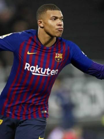 OFICIAL: Acuerdo del FC Barcelona con MBapé