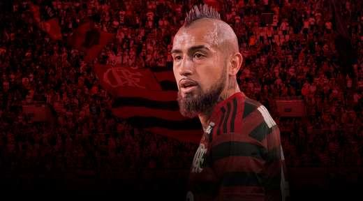 Todo Flamengo enloquece por la frase de Arturo Vidal - Bitbol