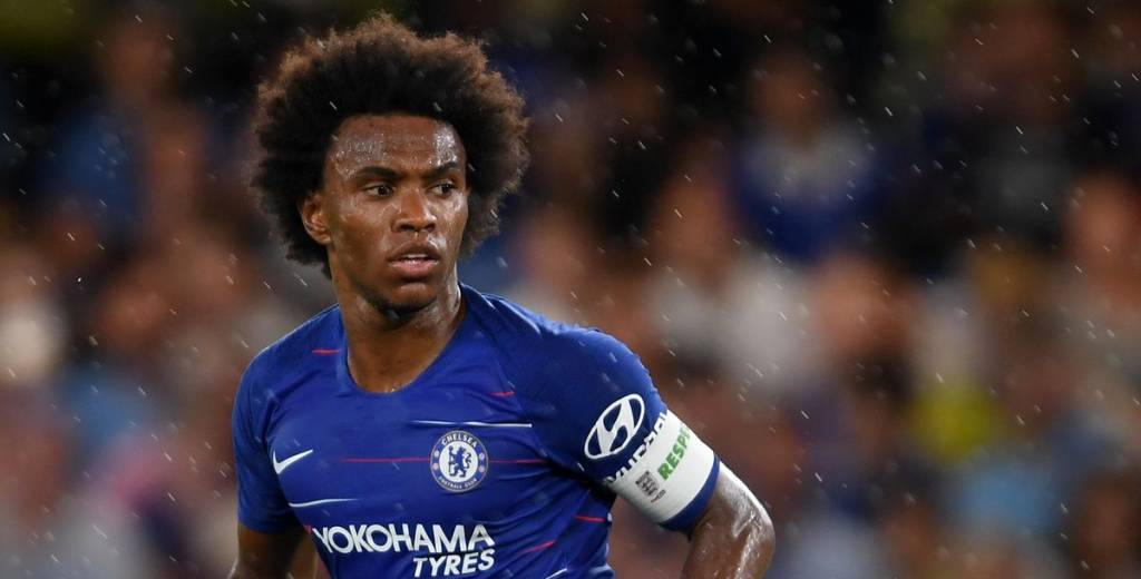 La peor noticia para Neymar: Barcelona empezó a negociar con Willian