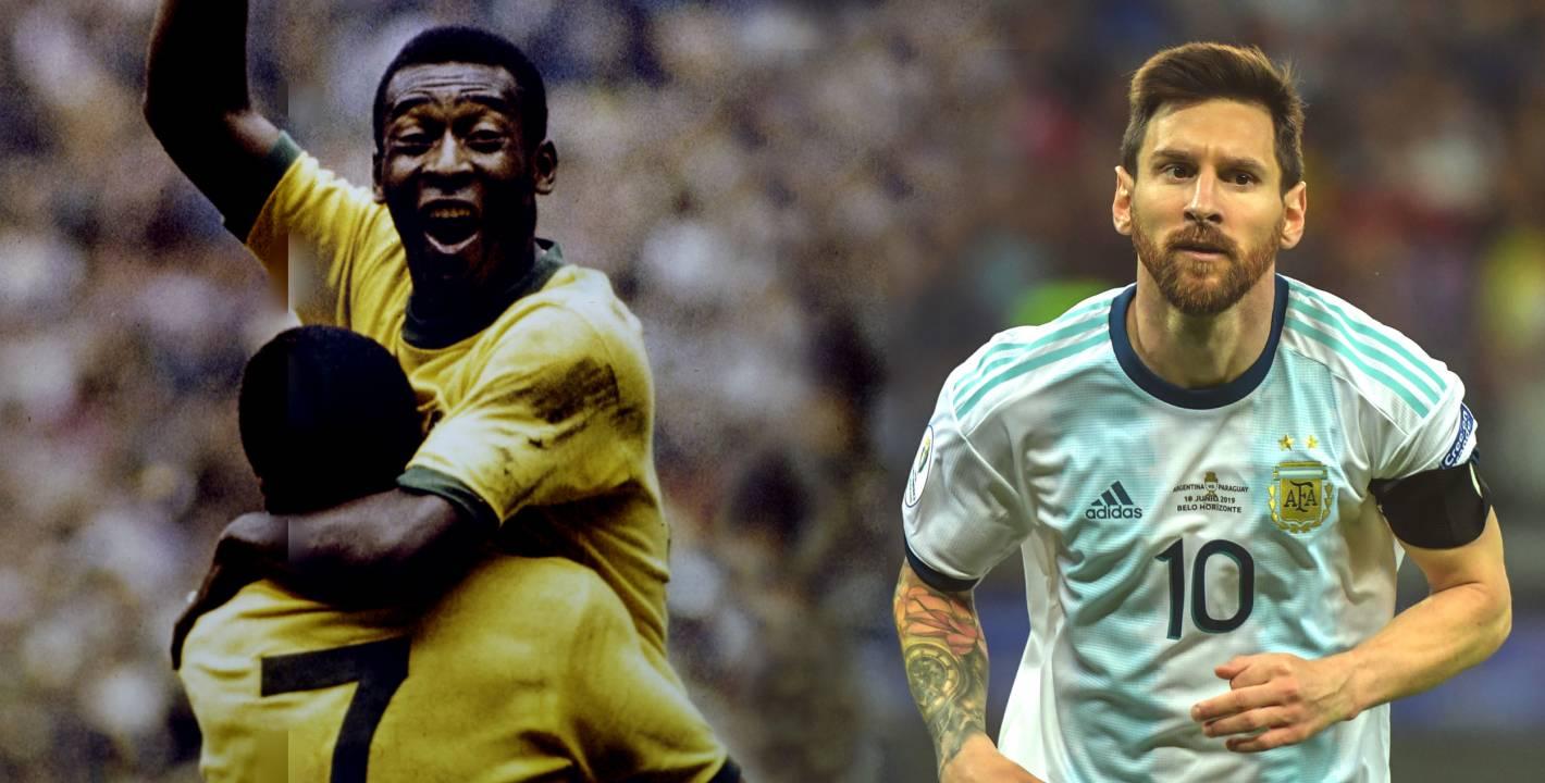 Despues De Pele Messi Es El Mejor Jugador De La Historia Del Futbol