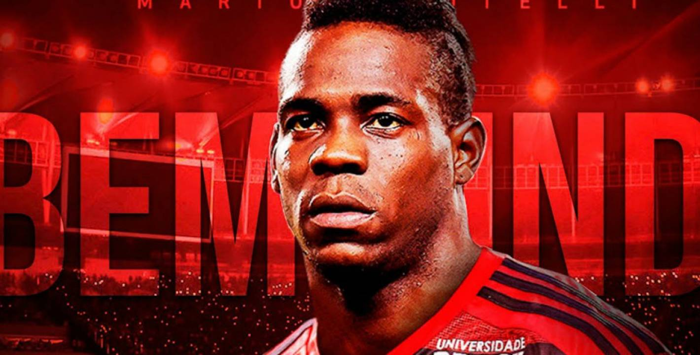 Image result for mario Balotelli flamengo