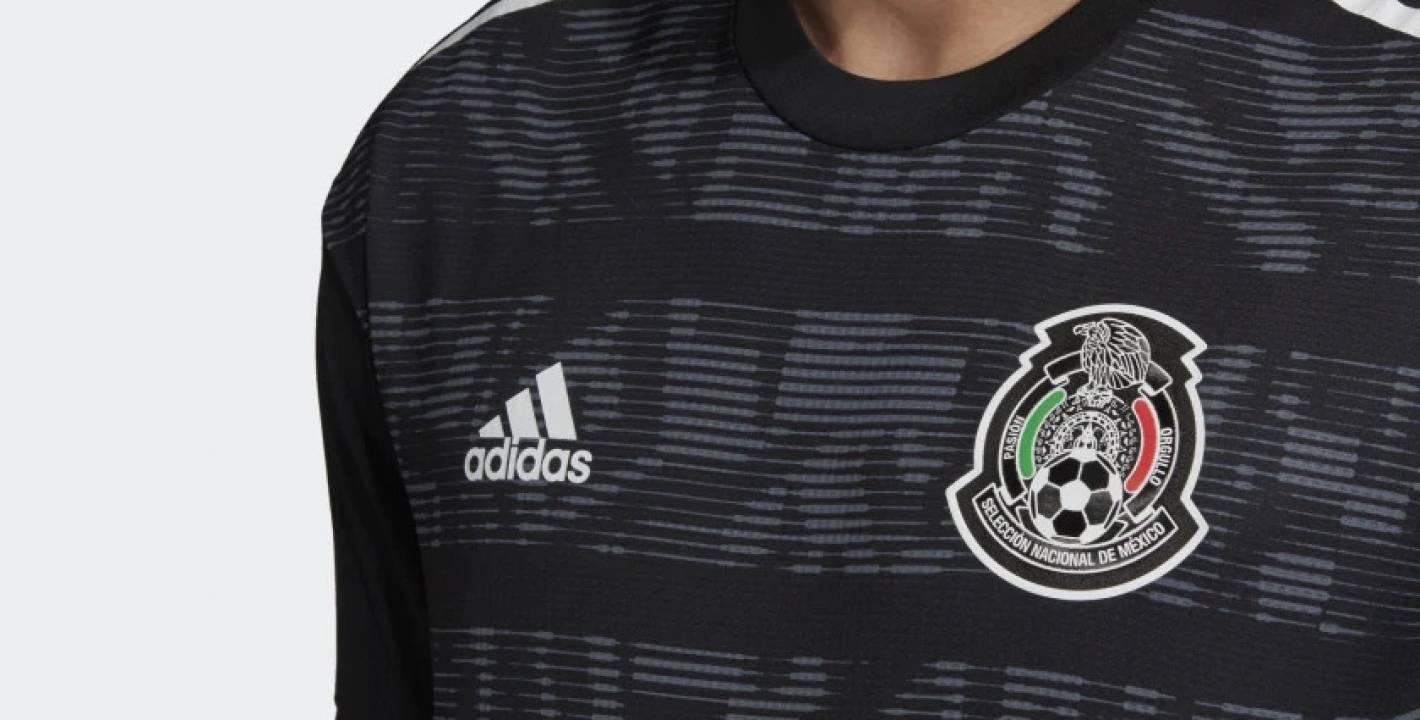 c4a60d0b04394 Adidas lanzó la nueva camiseta de México... ¡Y es negra! - Bitbol